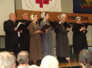 Die Heritage Brethren Singers am singe.