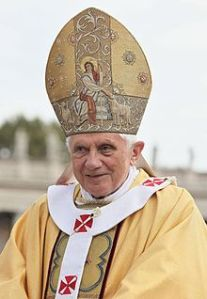 Baapscht Benedict der XVI.