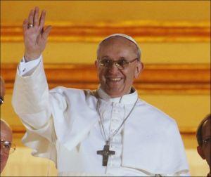 Der nei Baapscht: der Francis.