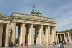 Brandenburger Dier in Berlin.