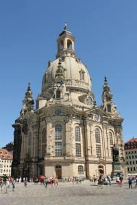 Die Frauenkirche in Dresden.