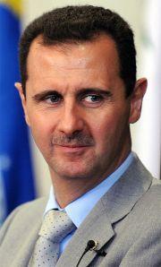 Der Bresident, Bashar al- Assad.