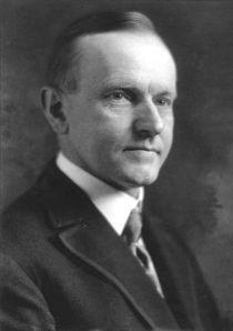 Der 30. Bresident: Calvin Coolidge.