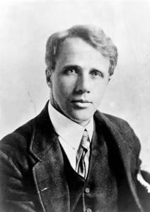 Der Dichder, Robert Frost.