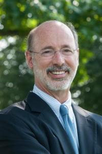 Unser 47. Governor: der Tom Wolf.