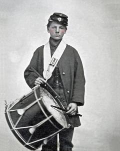 En Drummerbu aus em Birgergrieg.