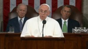 Der Francis schwetzt zu Congress.